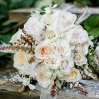 Amy's Bridal Bouquet