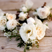 Ivory Boutonnieres