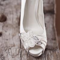 Rosette Bridal Shoes