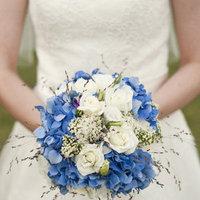 blue, Flowers, Bouquet