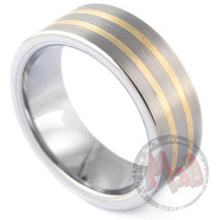 Mad Tungsten offers Jet Pilot Tungsten Rings for Men