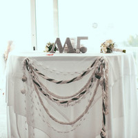 Mari and John's Sweetheart Table