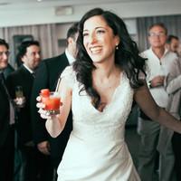 Mari Dancing at the Reception