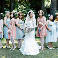 Marie and her Bridesmaids