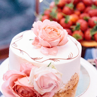Marie and Russell's Wedding Cake