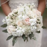 Beth's Bridal Bouquet