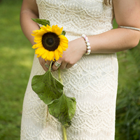 Single-Stem Bridesmaid Bouquet