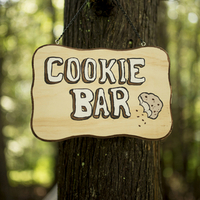 Cookie Bar in the Woods
