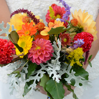 Allison's Bridal Bouquet
