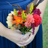 Allison's Bridesmaids' Bouquets