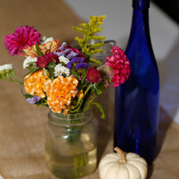 Rustic Fall Centerpieces