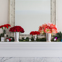 DIY: Holiday Mantel Decor