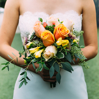 Yvonne's Bridal Bouquet