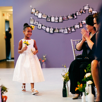 Flower Girl Coming Down the Aisle