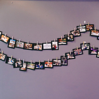 Cool DIY Photo Wall