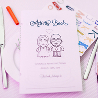 Yvonne & Kevin's Activity Book