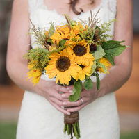 Amber's Bridal Bouquet