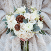 Jennifer's Bridal Bouquet