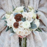Jennifer's Bridal Bouquet