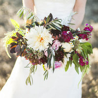 Romantic Jewel Tone Bouquet