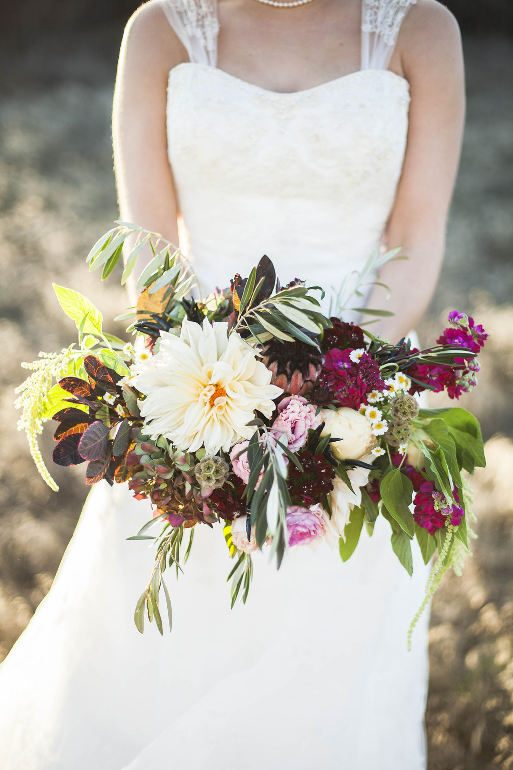 Cost Of Wedding Flowers 2017 : The brides romantic unstructured bouquet was composed of
