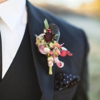 Wintry Boutonniere