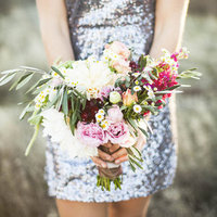 Rustic Elegant Bridesmaid Bouquets