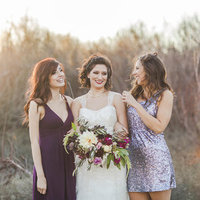 Romantic Glam Bridesmaids