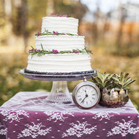 Ruby and Lace Cake Table