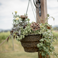 Hanging Basket Altar Decor