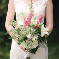 Pepa's Bridal Bouquet