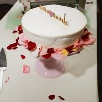 Caroline and Sanket's Cake