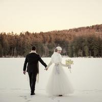 Bundled Up Wedding Fashion