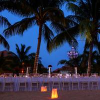 Romantic Beach Reception Scene