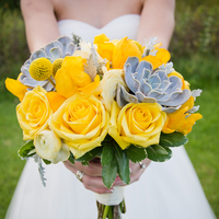Ingrid's Bridal Bouquet