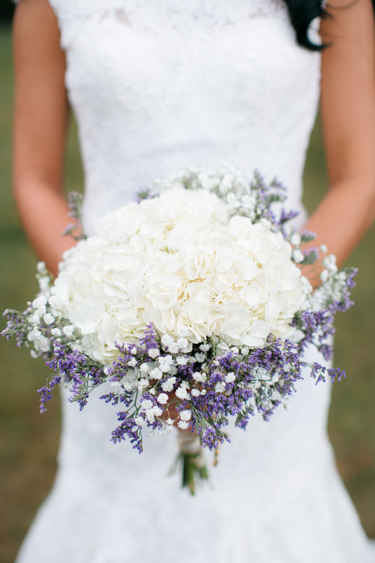 Lisa Carried A Rustic Biedermeir Style Bouquet Composed Of