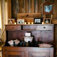 Rustic Romantic Reception Display