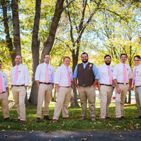 Marshall and his Groomsmen