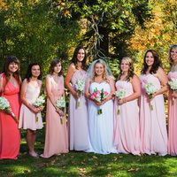 Holly and her Bridesmaids