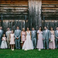 Brooke + Patrick's Wedding Party