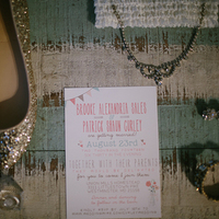 Brooke and Patrick's Invitations