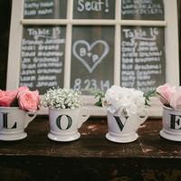 LOVE Mug Floral Arrangements