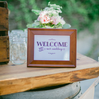 Amber and Matt's Welcome Table