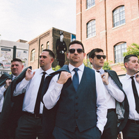 Brian and his Groomsmen