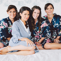 Heather and her Bridesmaids