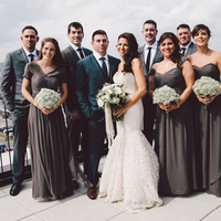 Scenic Wedding Party Photos