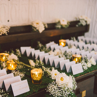 Moss & Mercury Escort Card Table