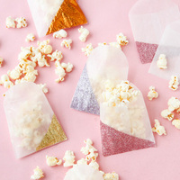 DIY: Color Blocked Glitter Gift Bags