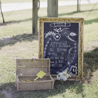 Chalkboard Ceremony Welcome