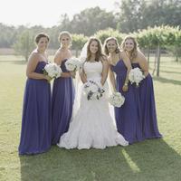 Elizabeth and her Bridesmaids